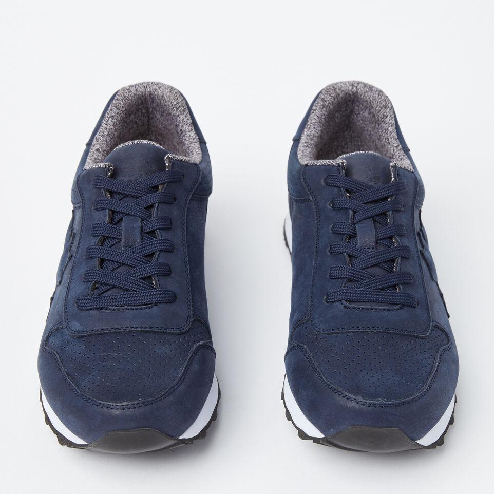 Roots-undefined-Chaussures de course Trans-Canadian en cuir Nubuck pour hommes-undefined-D