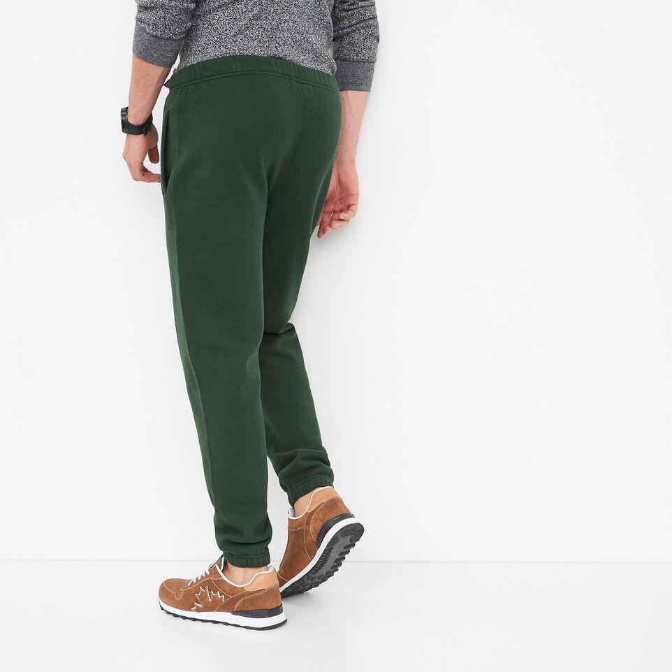 Roots-undefined-Pantalon Ajusté Coton Ouaté-undefined-D