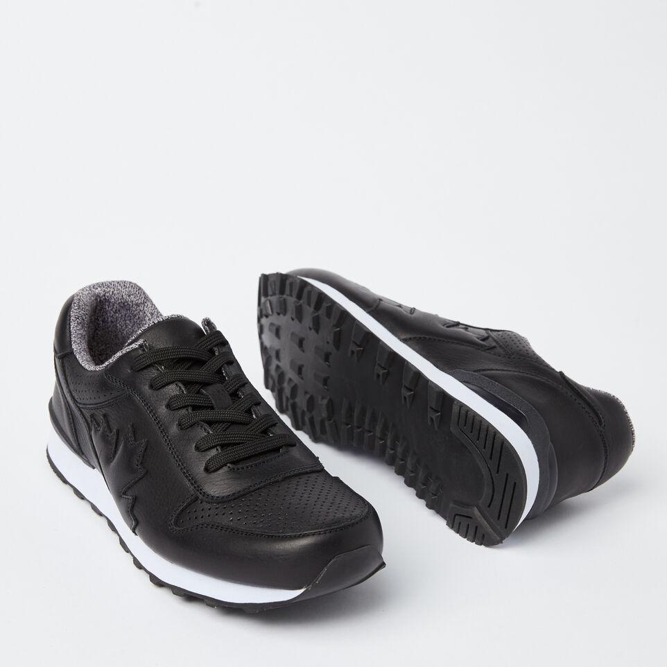 Roots-undefined-Chaussures de course Trans-Canadian en cuir pour hommes-undefined-E