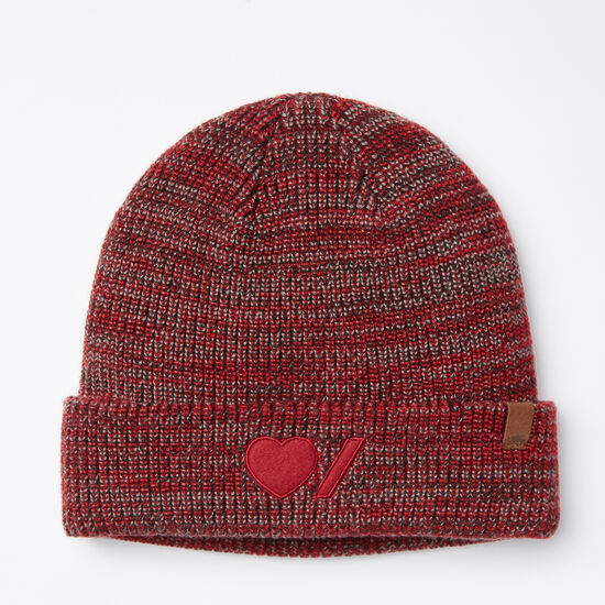 Roots-Women Heart & Stroke-Heart & Stroke Toque-Lodge Red-A