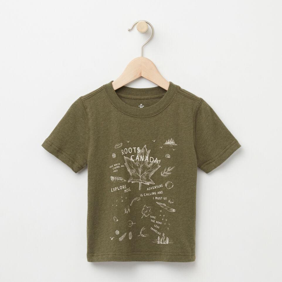 Roots-undefined-Tout-Petits T-shirt Objets Trouvés-undefined-A