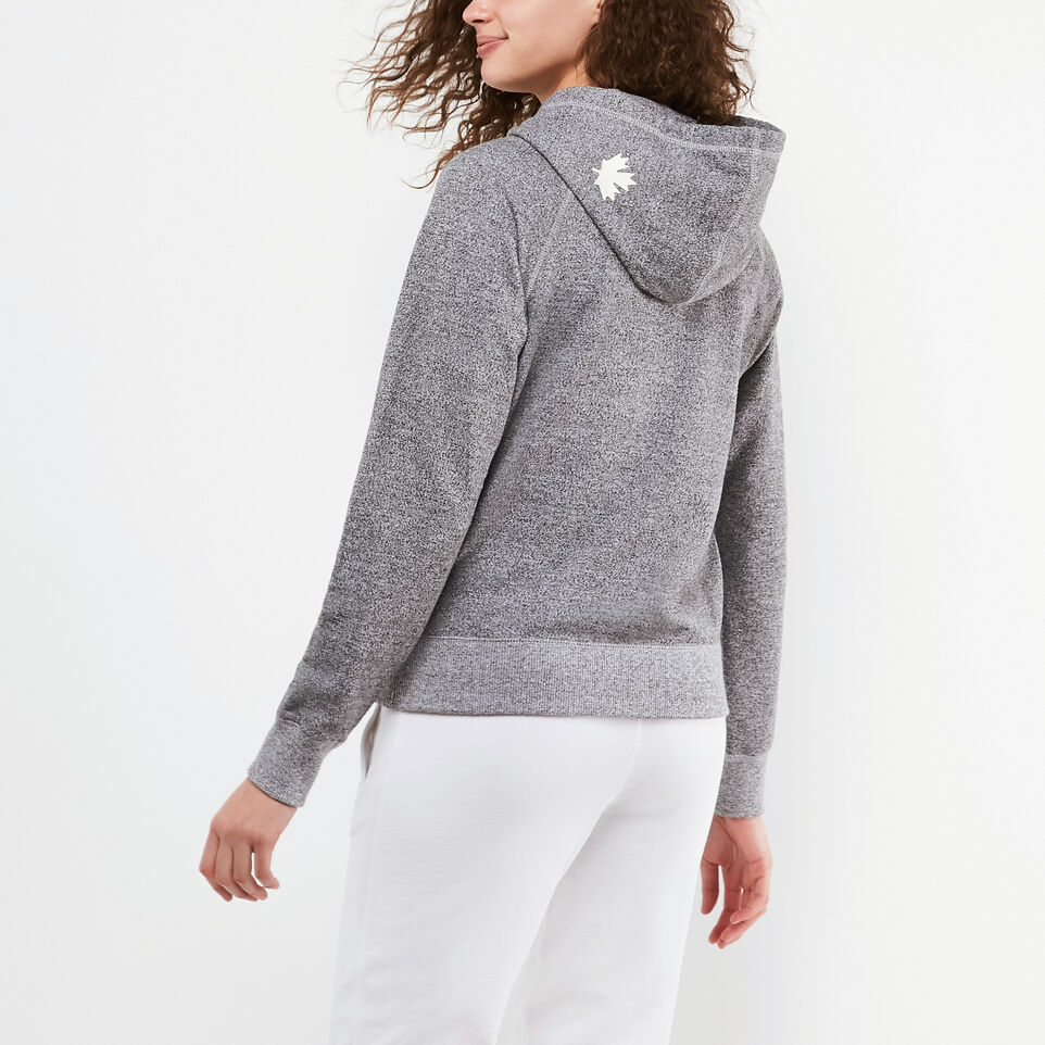 Roots-undefined-Womens Original Full Zip Hoody-undefined-D