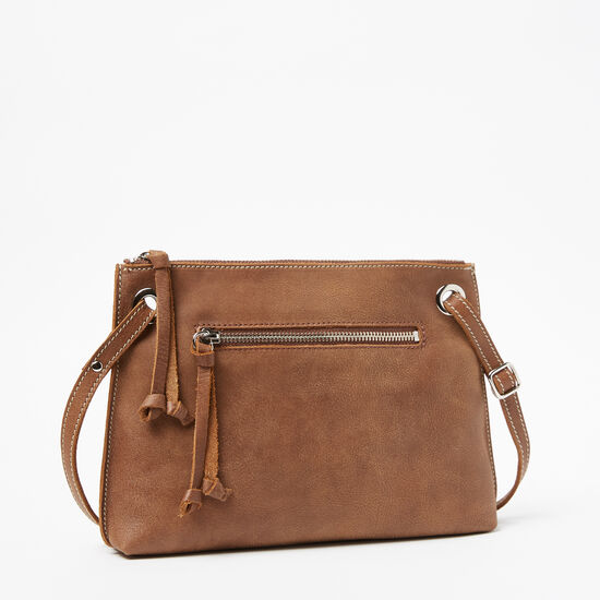 Roots-Leather Shoulder Bags-Edie Bag Tribe-Africa-A