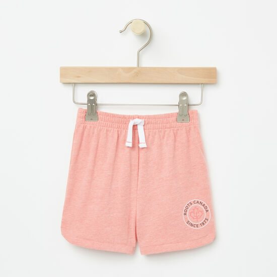 Roots-Kids New Arrivals-Baby Lucy Shorts-Peach Blossom-A