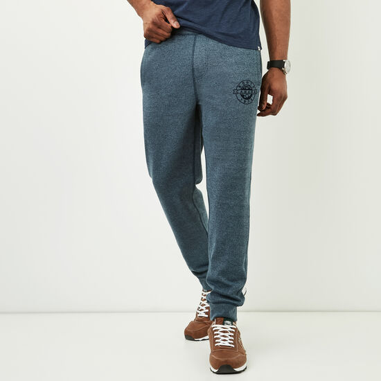 Roots-Men Slim Sweatpants-Tremblant Slim Sweatpant-Blue Mix-A
