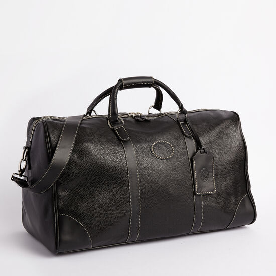 Roots-Men Weekender Bags-Large Banff Bag-Black-A