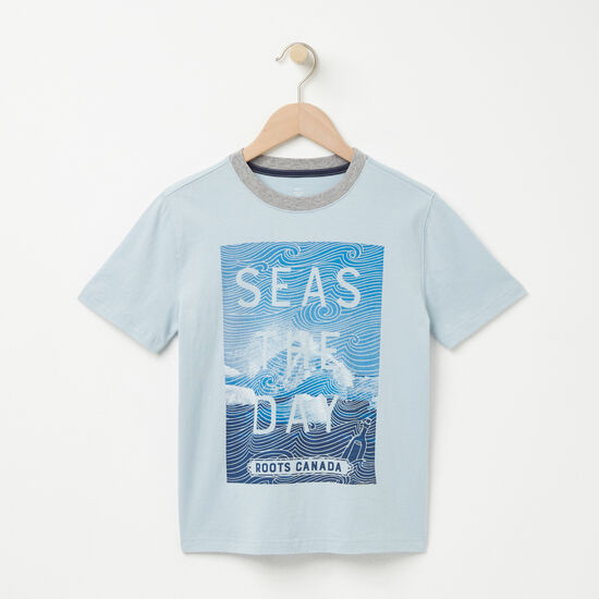 Garçons T-shirt Seas The Day