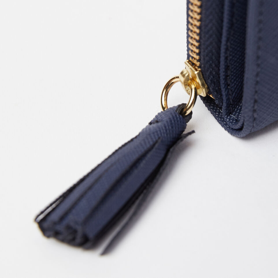 Roots-undefined-Small Tassel Wallet Saffiano-undefined-E