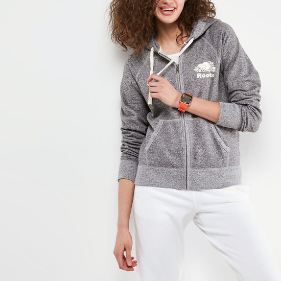 Roots-Women Roots Salt & Pepper™-Roots Salt and Pepper Original Full Zip Hoody-Salt & Pepper-A