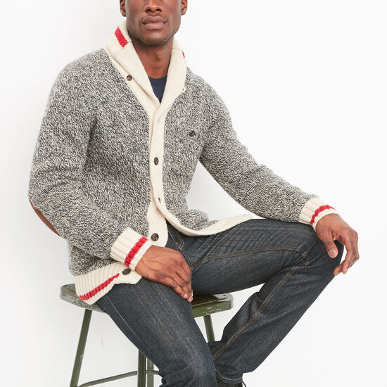Roots Cabin Shawl Cardigan