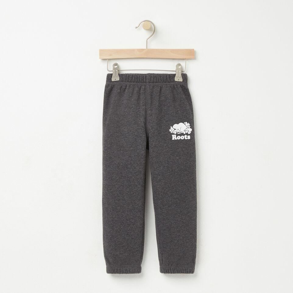 Roots-undefined-Tout-Petits Pantalon Cot Ouaté Original-undefined-A