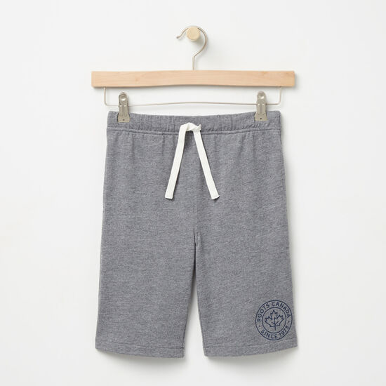 Roots-Kids Boys-Boys Bridgewater Shorts-Medium Grey Mix-A