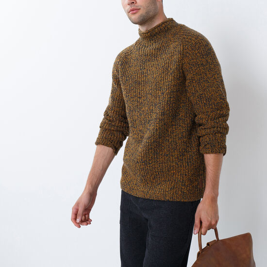Crowsnest Mock Neck Sweater