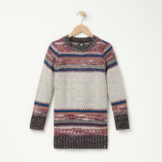 Girls Fair Isle Sweater Tunic