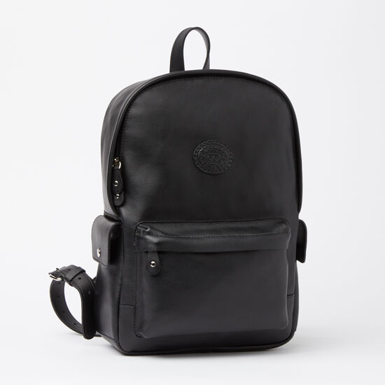 Roots-Women Backpacks-Central Pack Box-Black-A