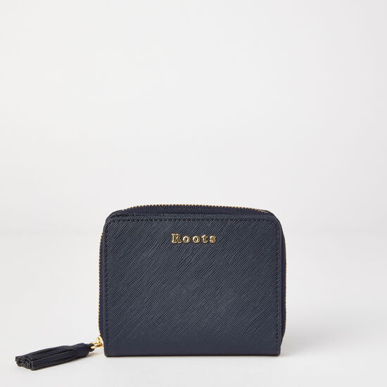 Roots - Small Tassel Wallet Saffiano