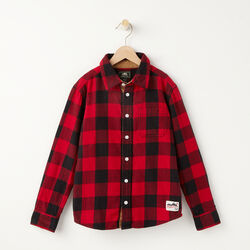 Roots - Boys Algonquin Flannel Shirt