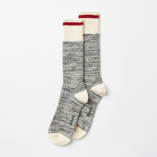Roots-Women Socks-Womens Park Sock 2 Pack-Salt & Pepper-A