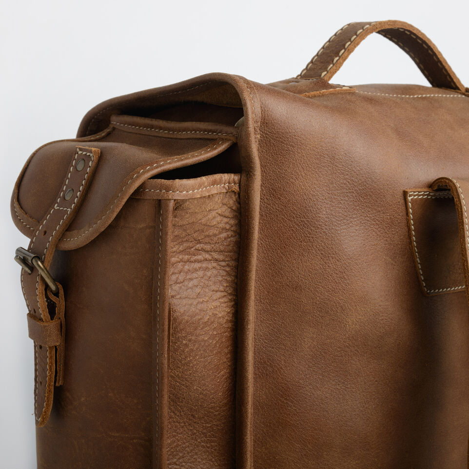 Roots-undefined-Sac Omer En Cuir Tribe-undefined-E