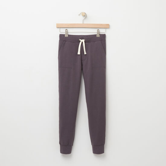 Roots-Kids Bottoms-Boys Lawrence Bottom-Blackened Pearl-A