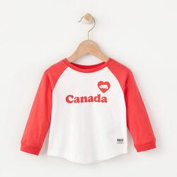 Roots - Baby Roots Heart Baseball T-shirt