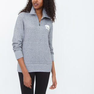 Roots - Edith Boyfriend Zip Polo