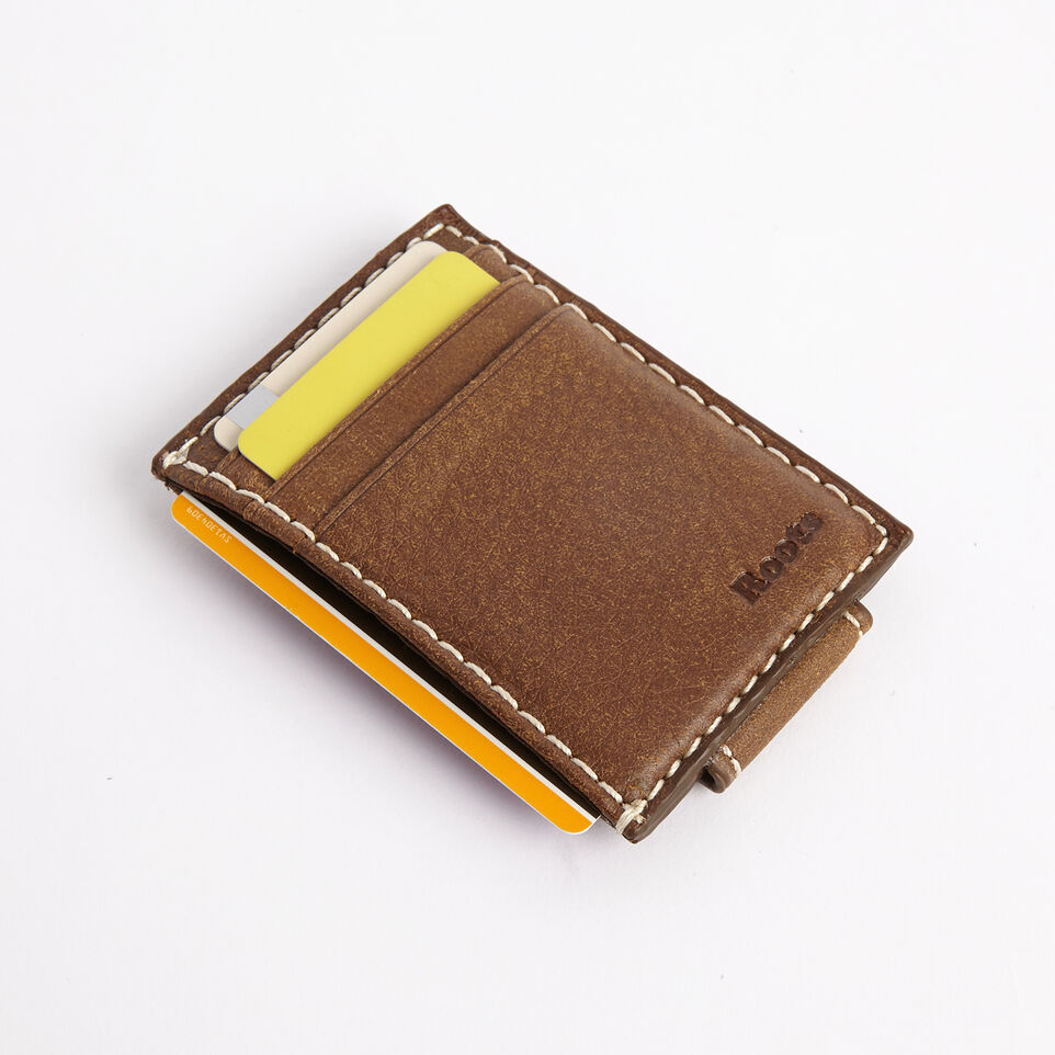 Roots-undefined-Money Clip Card Holder Tribe-undefined-B