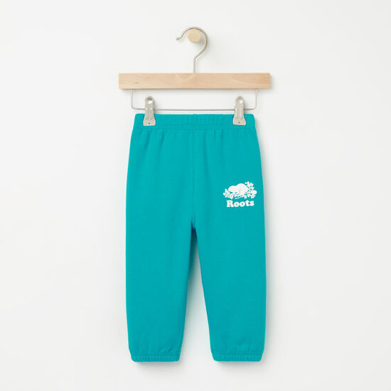 Roots-Kids Bottoms-Baby Original Sweatpant RTS-Bluebird-A