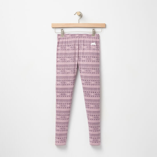Roots-Kids New Arrivals-Girls Sydney Printed Legging-Valley Purple-A