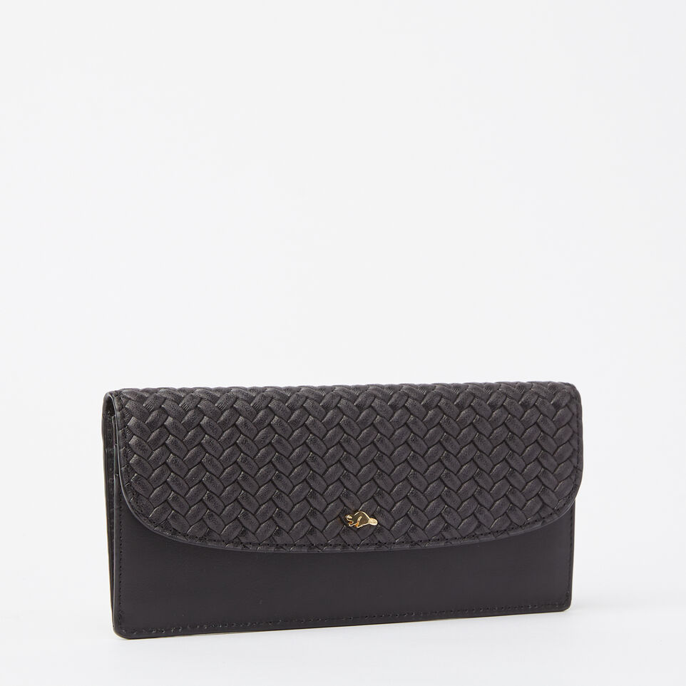 Roots-undefined-Slim Curve Wallet Woven-undefined-D