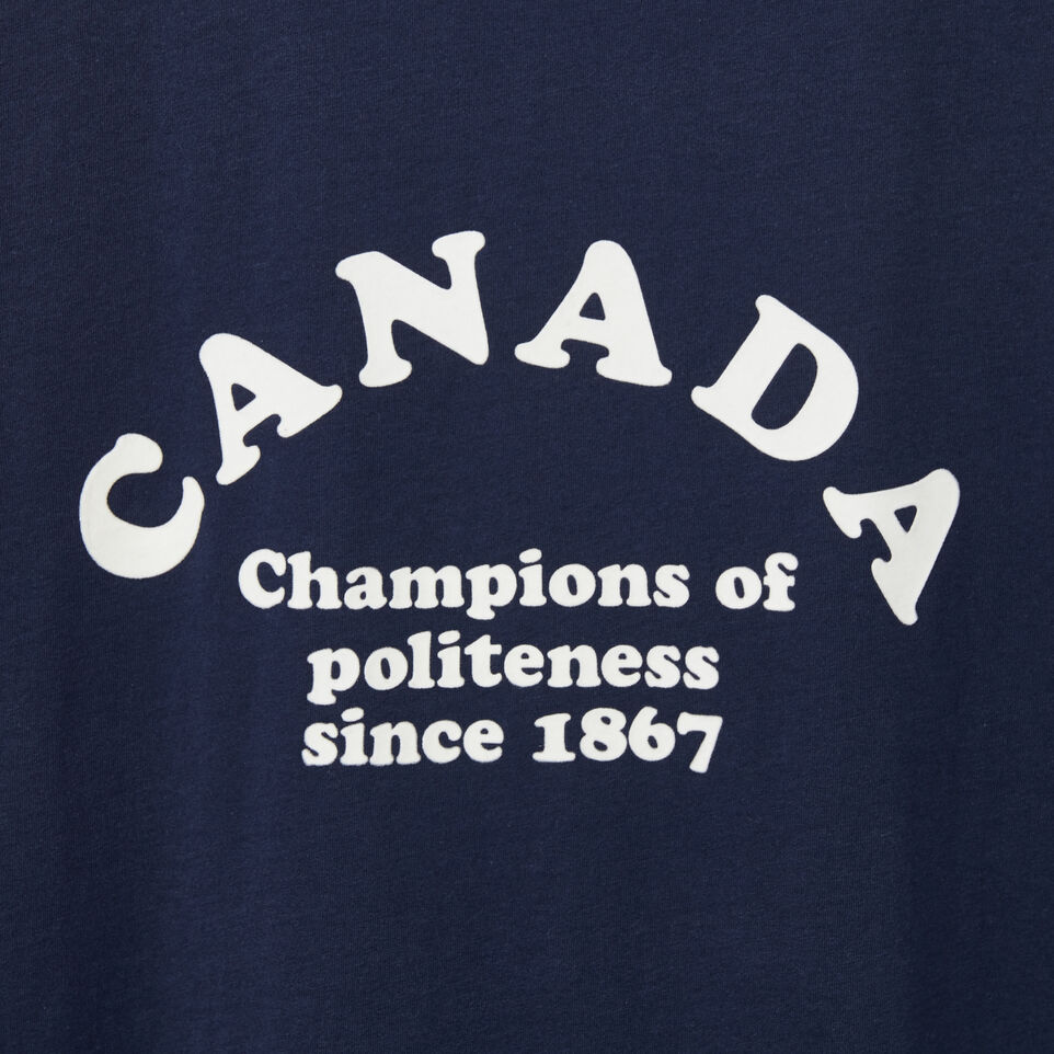Roots-undefined-T-s Col Contrast Champs Canad-undefined-C