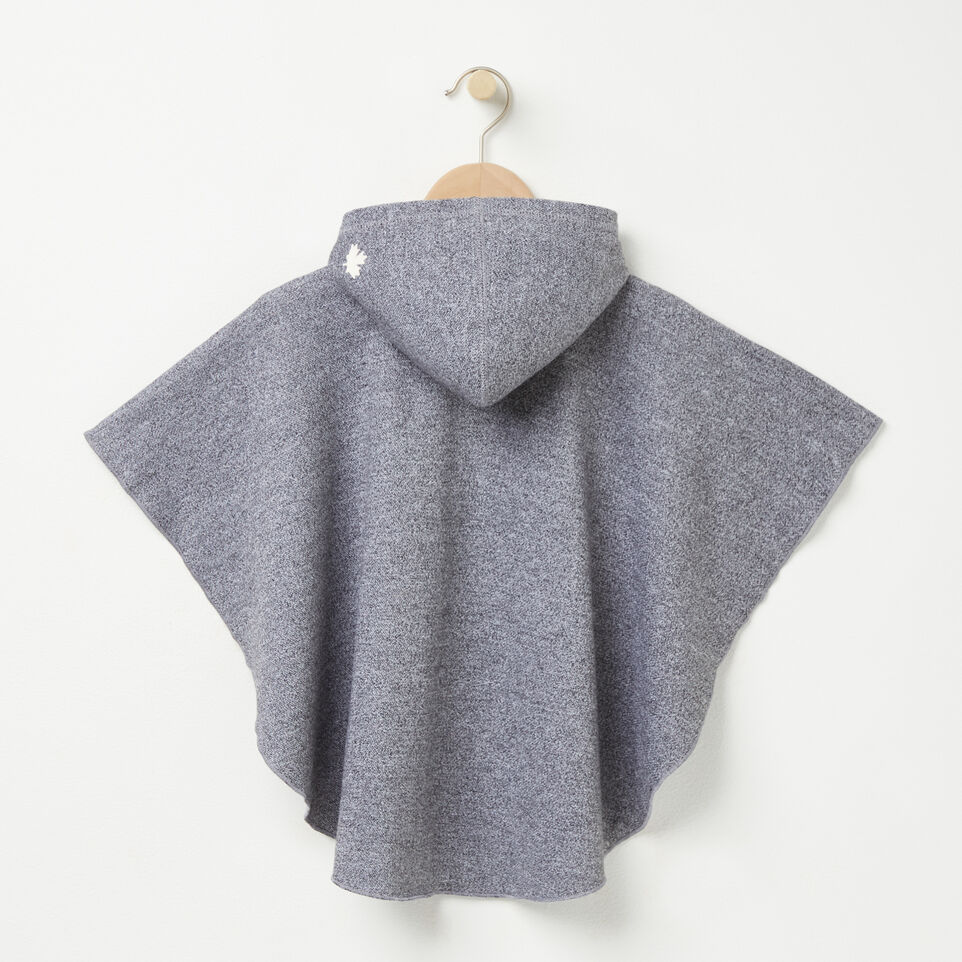Roots-undefined-Tout-Petits Poncho Molleton-undefined-B