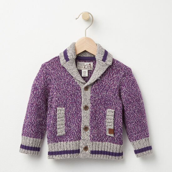 Roots - Baby Roots Cabin Shawl Cardigan