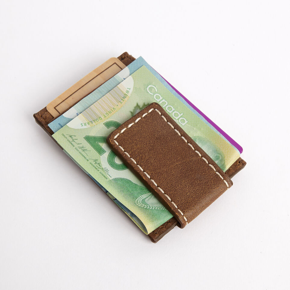 Roots-undefined-Money Clip Card Holder Tribe-undefined-E
