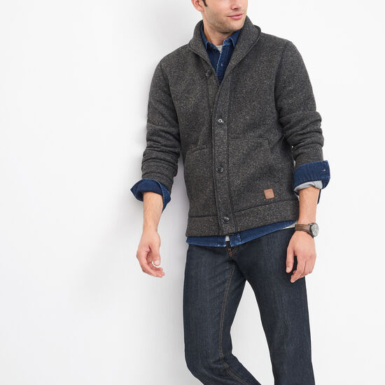 Roots - Cardigan En Molleton Campbell