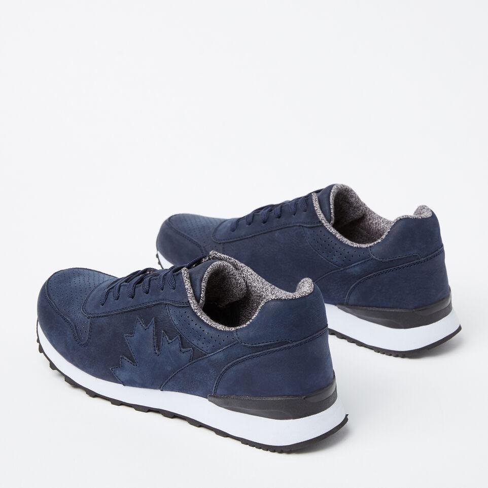 Roots-undefined-Chaussures de course Trans-Canadian en cuir Nubuck pour hommes-undefined-C