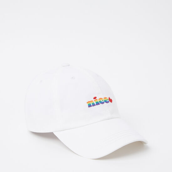 Roots-Men Accessories-Nice Pride Baseball Cap-White-A