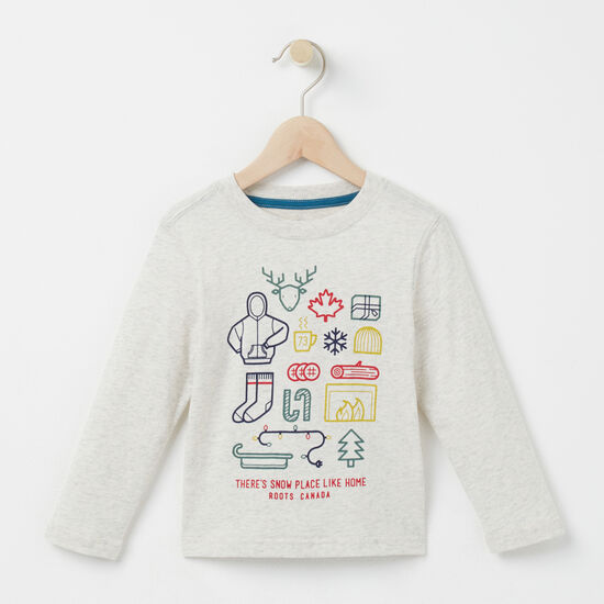 Toddler Snow Place Like Home T-shirt