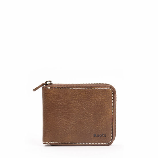 Roots-Men Wallets-Mens Zip Around Tribe-Africa-A
