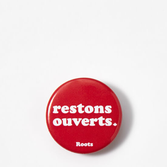 Roots-Leather Nice™-Bouton De Restons Ouverts-Sage Red-A