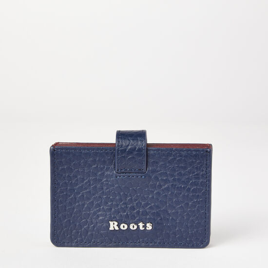 Roots-Leather Wallets-Multi Card Holder Super Prince-Midnight Blue-A