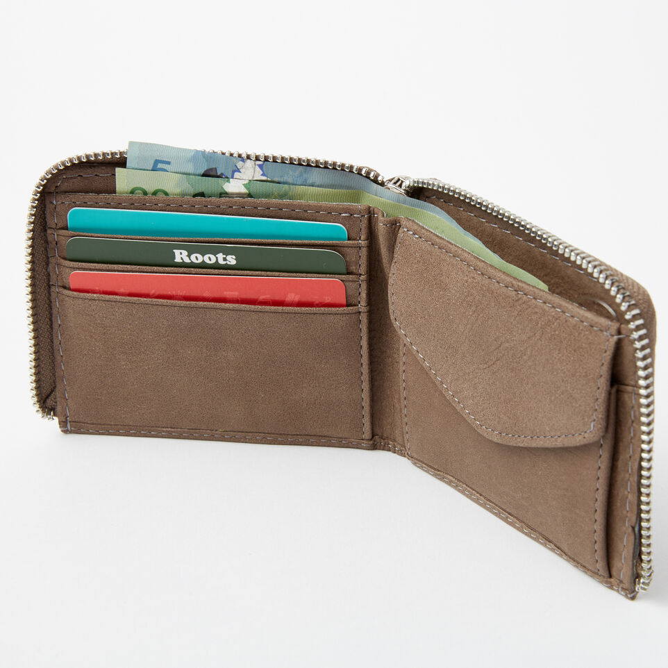 Roots-undefined-Mens Half Zip Wallet Tribe Tribe-undefined-B