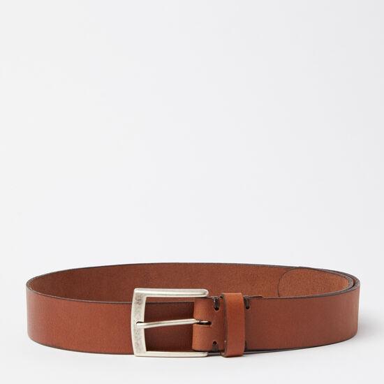 Roots-Men Belts-Mckay Belt-Tan-A