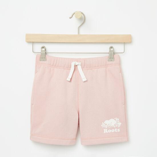 Roots-Enfants Pantalons Et Leggings-Filles Short Athlétique Original-Rose Argenté-A
