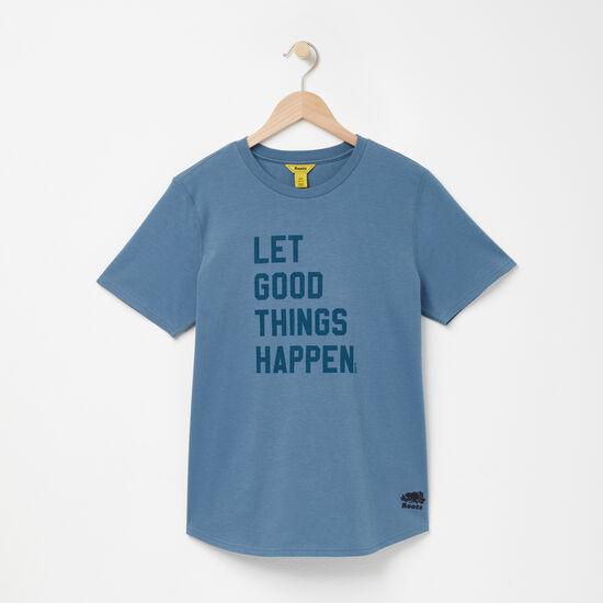 Roots-Women Active-Better Than Boyfriend T-shirt-Deep Teal Blue-A