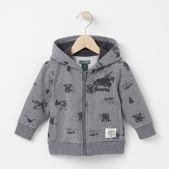 Roots - Baby Damian Cozy Fleece Full Zip Hoody