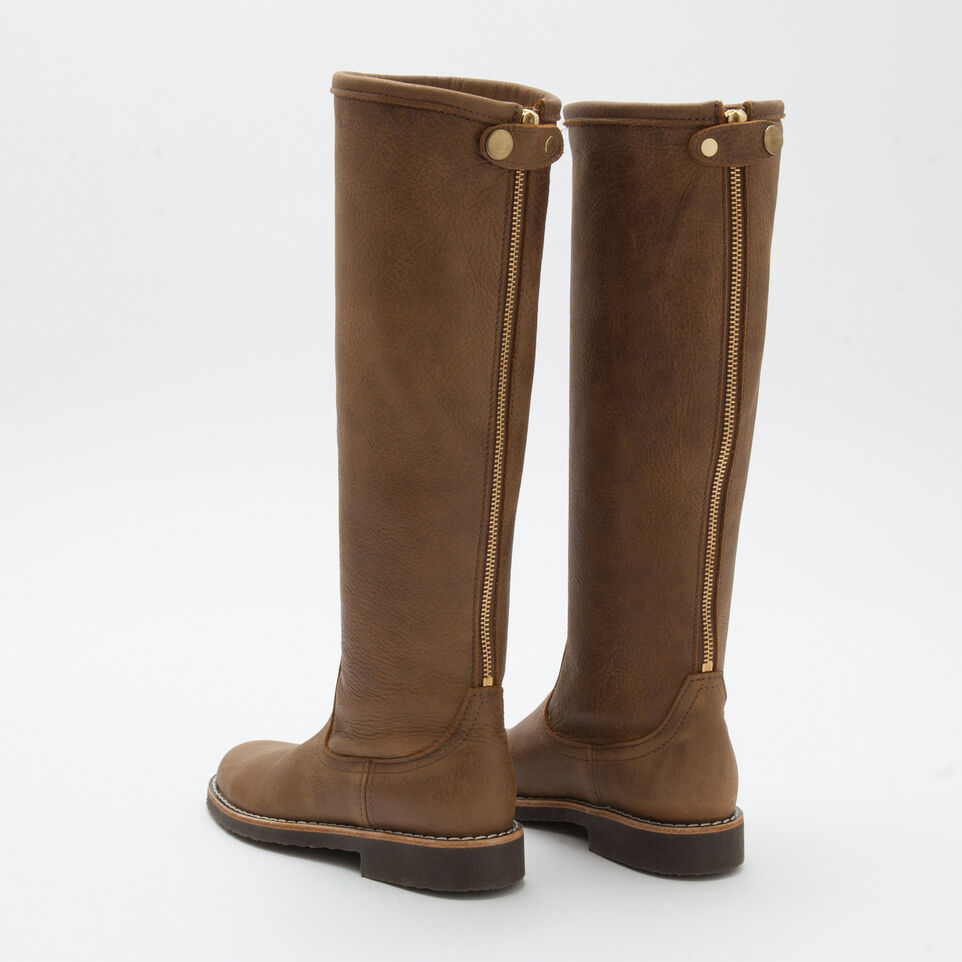 Roots-undefined-Botte Équestre Cuir Tribe-undefined-D