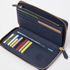 Roots-undefined-Open Flat Wallet Saffiano-undefined-B