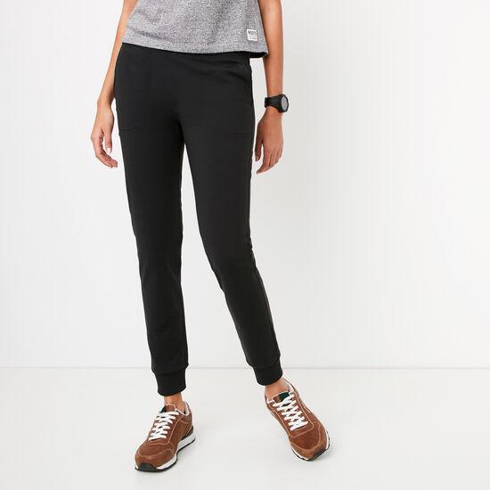 Roots-Femmes Pantalons-Pantalon Victoire-Noir-A
