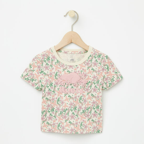 Roots-Kids Baby Girl-Baby Valleyfield Cooper T-shirt-Almond Milk-A